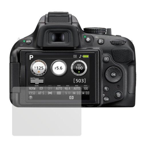 dipos I 6X Schutzfolie matt passend für Nikon D5200 Folie Displayschutzfolie