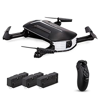 TWIFER JJR/C H37 BABY ELFIE RC Quadcopter Headless Mode 4CH Drone Selfie Toys( 3 Battery)