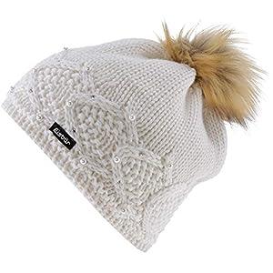 Eisbär Damen Serafina Lux Crystal Mütze