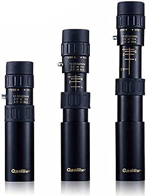 UrChoiceLtd® Hot Qanliiy 10 - 90 x 25 tamaño de Bolsillo Mini HD día y de baja luz Monocular Con Visión Nocturna a Trípode Como Regalo