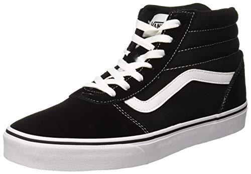 Vans Damen Ward HI Hohe Sneaker, Schwarz ((Suede/Canvas) Black/White Iju), 38 EU