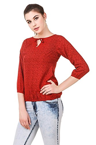 Swagg-India-Womens-Casual-Wear-Crepe-Printed-Top-T113