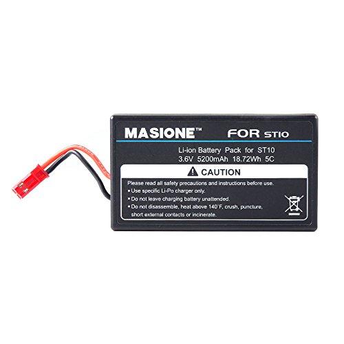 Masione–Drone batería 5200mAh 3.6V 5C Li-Ion batería drones helicóptero batería batería de...