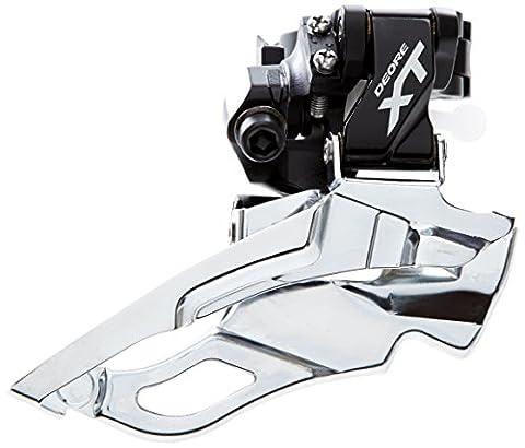 Shimano Deore XT FD-M781 dérailleur 3 vitesses Dyna-Sys noir Modèle Double traction, pour 28.6/31.8/34.9 mm 2016 Dérailleur avant