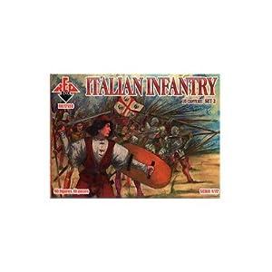Red Box rb72100-Figuras Italian Infantry, 16th Century, Juego 2