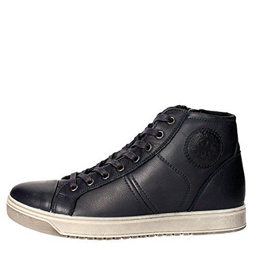 Imac 60200 Sneakers Uomo Pelle Blu Blu 44