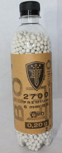 2700 Premium Bio BB`s 0,20g 6mm Softairkugeln UMAREX Elite Force