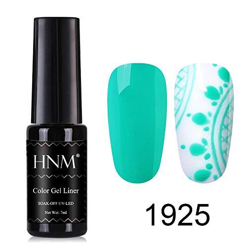 HNM Gel Vernis À Ongles UV LED Liner Couleur Soak Off Vernis Manucure Nail Art Peinture 7ML HNM-1925