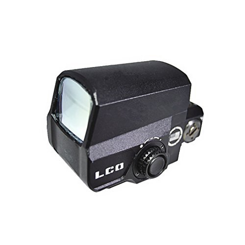 1 Red Moa Sight Dot (XWXS Optic LCO Style Reflex 1X Red Dot Sight Matte 1 MOA Dot 20mm Picatinny Rail)