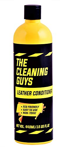 The Cleaning Guys Leather Conditioner- 440ml, Restores & Protects The Shine of Your Leather Car Seats, Sofa/Furniture, Handbags & Jackets