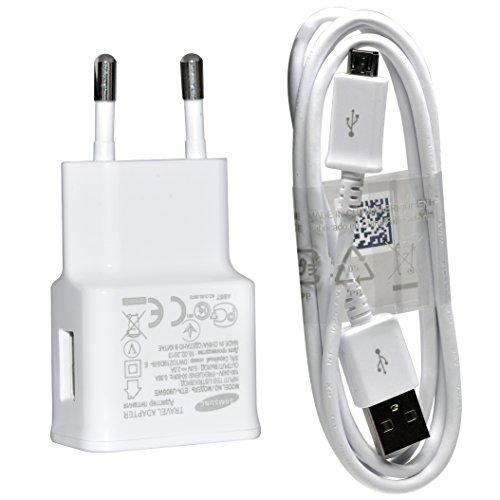 Original Samsung 2.0 A Handy Ladegerät ETA-U90EWE+ Ladekabel ECB-DU4WE - Weiß