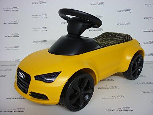 Original Audi Junior quattro Audi Bobby Car vegasgelb mit LED Beleuchtung 3201700400 - 2