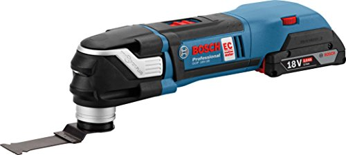 Preisvergleich Produktbild Bosch Professional Akku Multifunktionswerkzeug GOP 18 V-28 ohne Akku, L-BOXX 136 (18 Volt, Oszillationswinkel: 1,4° , Gewicht: 1,6kg)