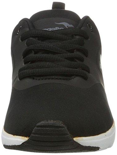 KangaROOS Damen Kangacore 2106 Sneaker Schwarz (Black)