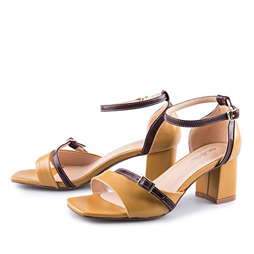 Summer,Fashion,Talons Hauts/Lady,Sandales à Talon Chunky B