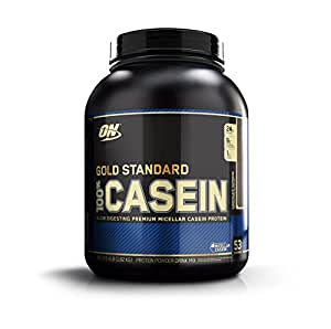 Optimum Nutrition Gold Standard 100% Casein Protein Powder Drink Mix Chocolate Supreme 1.82kg