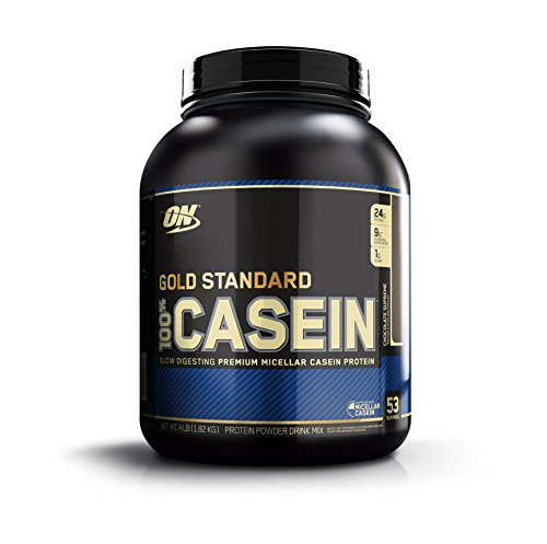1- 100% Casein Protein de Optimum Nutrition