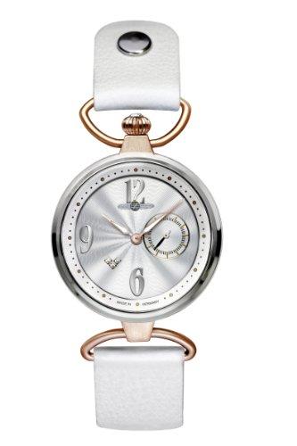 Zeppelin Princess 7439-1 - Reloj de mujer de cuarzo, correa de piel color blanco