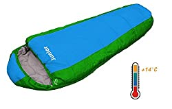 EXPLORER Kinder Schlafsack JUNIOR 170x70cm Mumienschlafsack Camping Outdoor