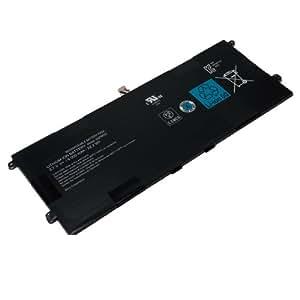 Amsahr Xperia Tablet Z-02 4 cellules 6000mAh Batterie de remplacement pour pc portables SONY Xperia Tablet Z, SGP311, SGP312, SGP-312E4