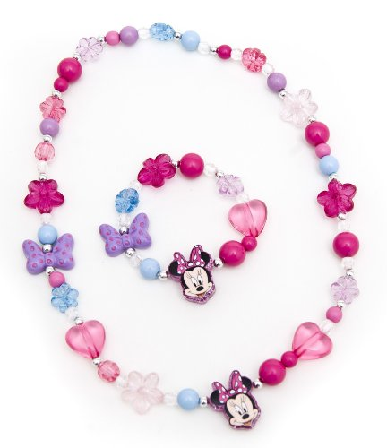 Minnie Mouse - Collar de juguete (Glitter Party Minnie)