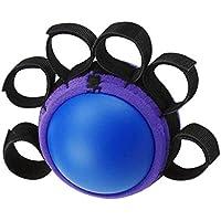 Beaurce Agarre de Mano, Bola de Agarre de Cinco Dedos, Bola de fortalecimiento del Ejercicio de la Mano, tensión Muscular en el Dispositivo de Agarre de Bola de Entrenamiento de la Mano