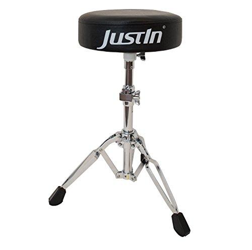 JDT440 - Drum Throne Round Seat Drumhocker mit runder Kunstledersitzfläche