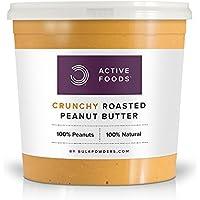 Bulk Powders Erdnussbutter - Protein Nussbutter aus 100 % reinsten Erdnüssen, 1Kg