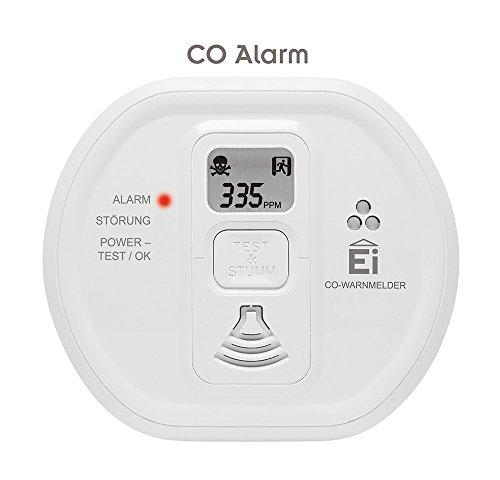 Ei Electronics Ei208D 10-Jahres-Kohlenmonoxidwarnmelder, 1 Stück - 5
