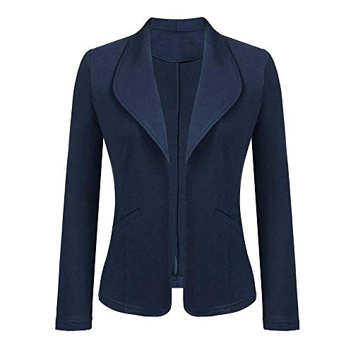 Yvelands Damen Mantel Strickjacke Strickdruck Langarm Strickjacke T-Shirt -