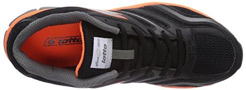 Lotto Sport - Zenith V, Scarpe da corsa Uomo Multicolore (Mehrfarbig (BLACK/FL FANT))