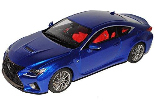 lexus-rc-f-coupe-blau-ab-2015-1-18-kyosho-modell-auto-mit-individiuellem-wunschkennzeichen
