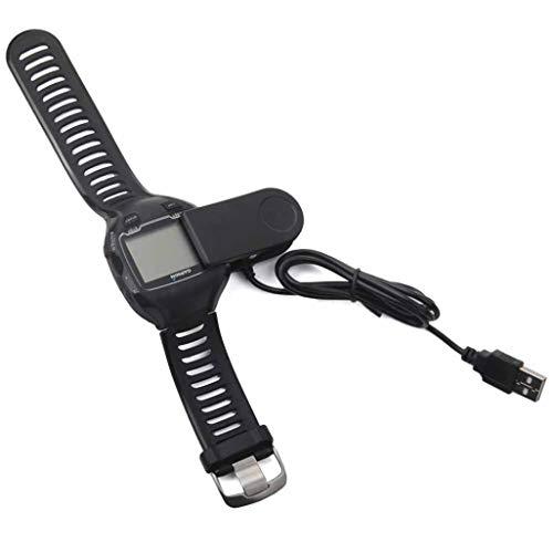 Jamicy Aufladeeinheit für Garmin Forerunner 310XT, 405, 405CX, 410, 910XT (3.3ft / 100cm), Ersatz-USB-Ladekabel Kabel Draht Clip Dock