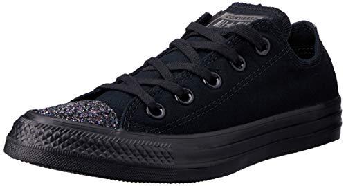 Converse Damen Chuck Taylor All Stars Sneaker Schwarz Black/Silver 000, 38 EU -