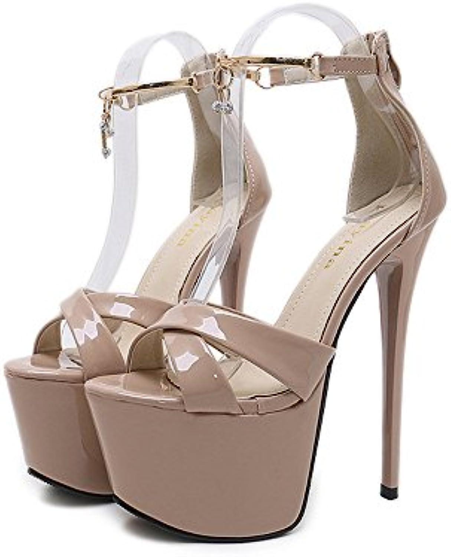 22167cb9f7ba13 angel aime la beauté wo à haut talon sandales chaussures plateforme  stiletto (couleur: abricot couleur, taille: 5uk) b07dsnddk6 parent |  Insolite 40d679