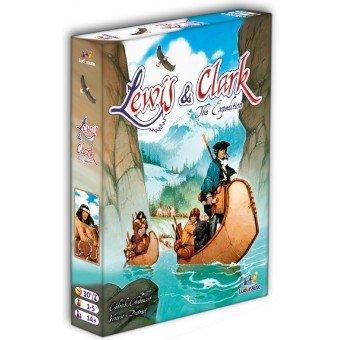Jeu de société Lewis & Clark - Ludonaute