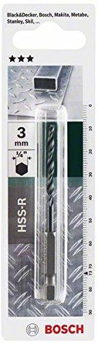 Bosch DIY Metallbohrer HSS-R rollgewalzt mit 1/4