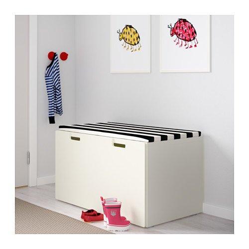 IKEA STUVA Banktruhe, weiß (90x50x50 cm), inkl. Rollen - 3