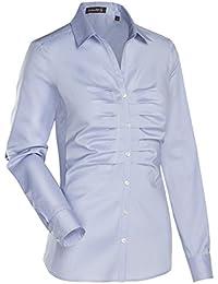 JACQUES BRITT Damen Bluse Brown Label Stretch Uni / Uniähnlich City-Bluse
