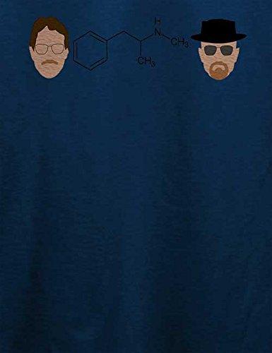 Walter Formel T-Shirt Navy Blau