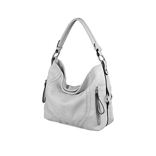 OBC Only-Beautiful-Couture, Borsa tote donna grigio Hellgrau 37x29x13 cm ca.: 37x29x13 cm (BxHxT) grigio chiaro