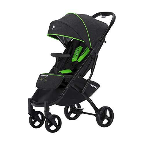 knorr-baby 888120 - Passeggino Head Buggy, colore: Grigio scuro/Grigio scuro