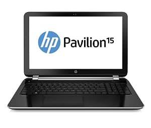 """HP Pavilion 15-N202SF Ordinateur Portable 15"""" Argent (Intel Core i5 4200U, 750 Go, 4Go de RAM, HD 4400, Windows 8.1)"""