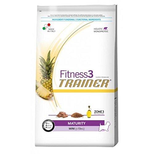 Trainer Fitness 3 No Grain Mini Maturity Maiale Piselli e Olio 2kg