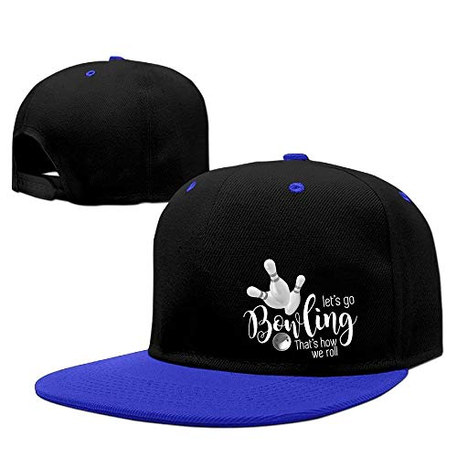 JKKSA Vintage Cotton Basecap Snapback Caps Bowling Sport Adjustable Snapback Baseball Cap -