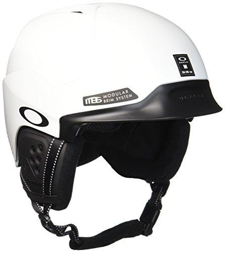 Oakley MOD5 Snowboard, Esquiar Negro, Blanco Casco de protección - Cascos de protección (Unisex, Mate, Negro, Blanco)