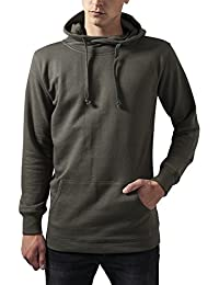 Urban Classics Loose Terry Long Hoody, Sweat-Shirt à Capuche Homme