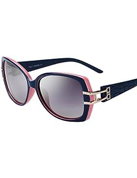 Gafas de sol de las señoras/Gafas de marco retro con estilo/Elegantes gafas polarizadas de conducción