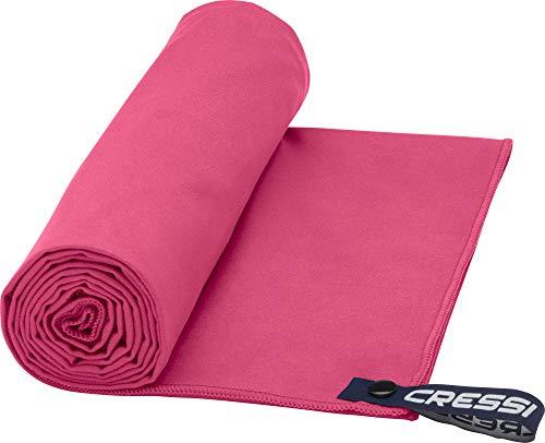 Cressi Microfibre Fast Drying Toalla de Sport, Unisex Adulto, Rojo, 30x50cm