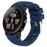 c9fd25b91135 Bestow Amazfit Stratos Smart Watch 2 Soft Silicagel Reloj Deportivo Correa  de Banda Reloj de Pulsera